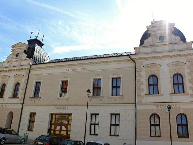 Městské kulturní středisko Beseda v Moravských Budějovicích.