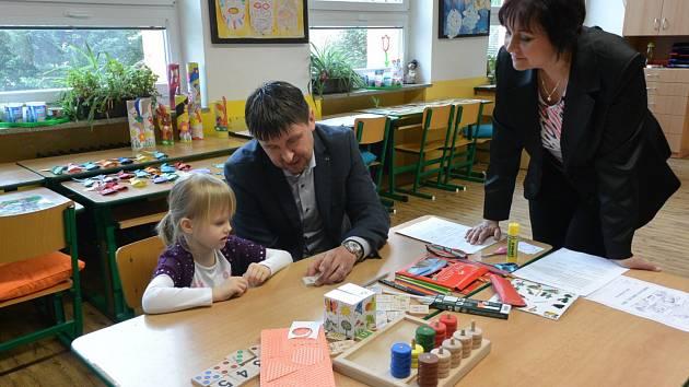Zápis do prvních tříd se v Třebíči konal na počátku dubna.
