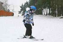 Ski areál u Kostelíčka