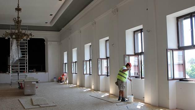 Kulturní dům Beseda v Moravských Budějovicích prošel důkladnou rekonstrukcí.