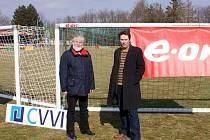 Bezpečné fotbalové branky má nyní vedle dalších měst také Třebíč.