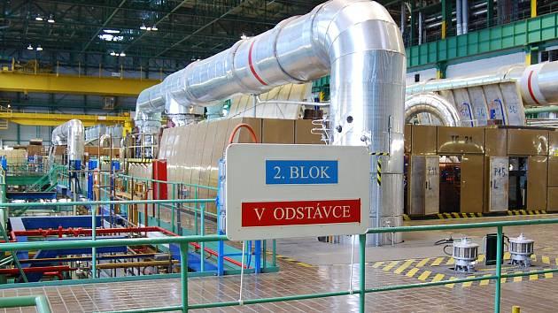 V dukovanské jaderné elektrárně začíná odstávka druhého výrobního bloku.