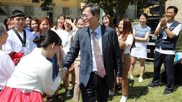 Ředitel KHNP Jae-Hoon Chung.