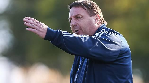 Trenér Petr Kylíšek už od pondělí nevede fotbalisty Třebíče.