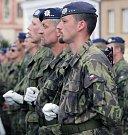 Oslavy 70 let od konce války v Náměšti nad Oslavou.