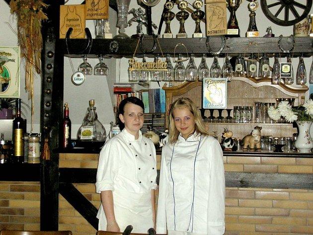 Studenti Hotelové školy na stáži v Německu. Na pracovišti.