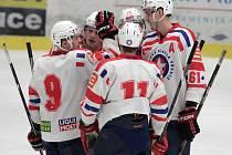 Junioři Horácké Slavie oplatili ve svém třetím barážovém utkání Porubě stejnou mincí a v Ostravě vyhráli 5:3.