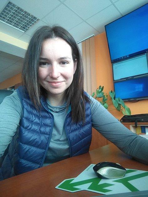 Martina Novotná se odmala pohybuje vzemědělském prostředí.