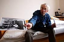 Josef Vícha, pacient Ústavu sociální péče v Jinošově, je dočasně přestěhován v náměšťské ubytovně.