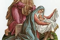 Ukázka figurky z betlému Františka a Jana Janovských
