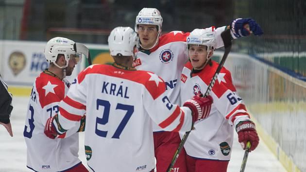 Hokejisté Třebíče mají další tři body, porazili doma jasně Ústí