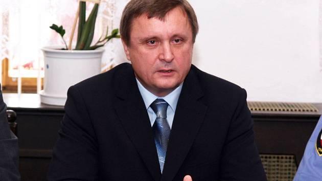 Ing. Ladislav Prvák - ředitel městské policie v Třebíči.