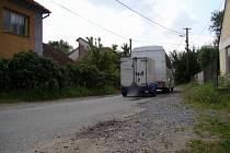 Objízdná trasa vede přes Heraltice.