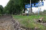 Koleje chybí také na zastávce v Borovině.