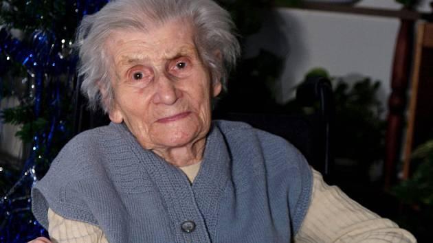Stých narozenin se včera ve zdraví dožila třebíčská obyvatelka Růžena Malá.
