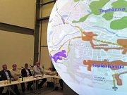 Konference o perspektivě obnovitelných zdrojů energie v Třebíči.