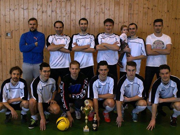 Vítězný tým krajského přeboru ve futsalu Orchestrion vyhrál soutěž potřetí ve své šestileté historii.