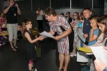 V pátek 30. června přijelo do Infocentra JE Dukovany 36 dětí z 1. a 2. ročníku ZŠ Mohelno.