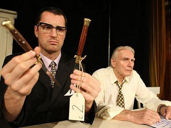 Na slavnou hru Reginalda Rose Dvanáct rozhněvaných mužů se mohou zájemci vypravit v pondělí a v úterý do třebíčského divadla Pasáž.
