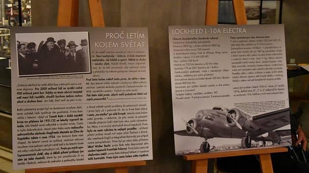 Osudy slavného podnikatele a jeho obchodní cesty kolem světa, kterou absolvoval v letadle připomíná výstava v třebíčském Alternátoru.