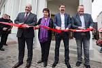 Otevření komunitního centra Moravia v Třebíči.