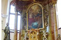 Oltář v Babicích