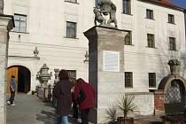 Zámek v Budišově. Projekt na obnovu zámku se zastavil.