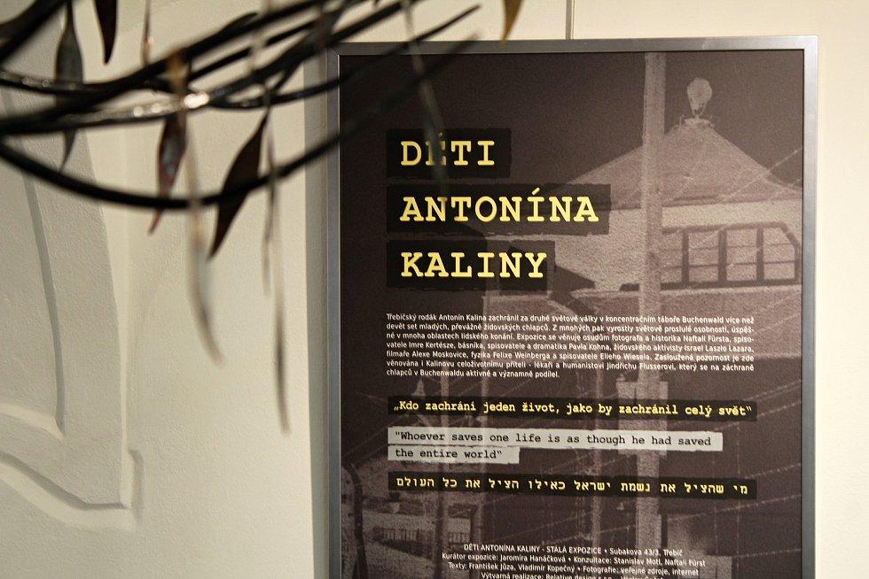 Pamětní síň Antonína Kaliny v Třebíči.