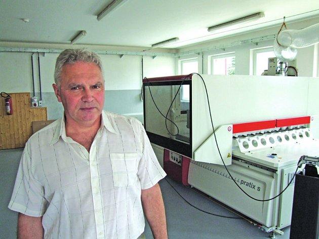 Ředitel stavební školy Alois Novák