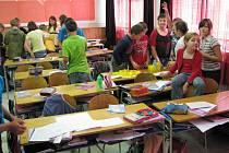 V budišovské základní škole bylo ve středu všechno naopak. Místo učitelů učili děti.
