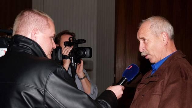 Místostarosta Miloš Mašek.
