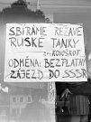 Srpen 68 v Třebíči.