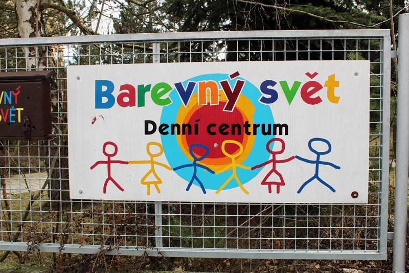 Denní centrum Barevný svět v Třebíči.