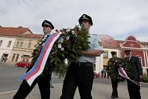 Osvobození Československa již v úterý oslavili v Moravských Budějovicích.