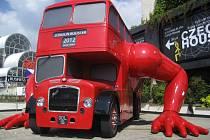 Návštěva olympijského Londýna.