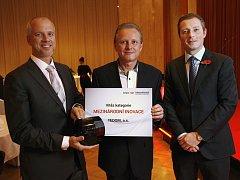 Společnost Tedom získala cenu v kategorii Mezinárodní inovace.