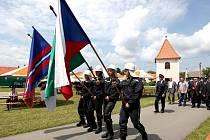 Hasiči v Kramolíně oslavili stovku