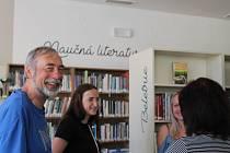 Slavnostní otevření nové knihovny v Okříškách, sobota 1. srpna 2020.