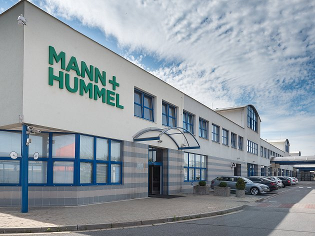 Sídlo společnosti Mann Hummel v Nové Vsi.
