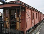 Legiovlak na nádraží v Třebíči.
