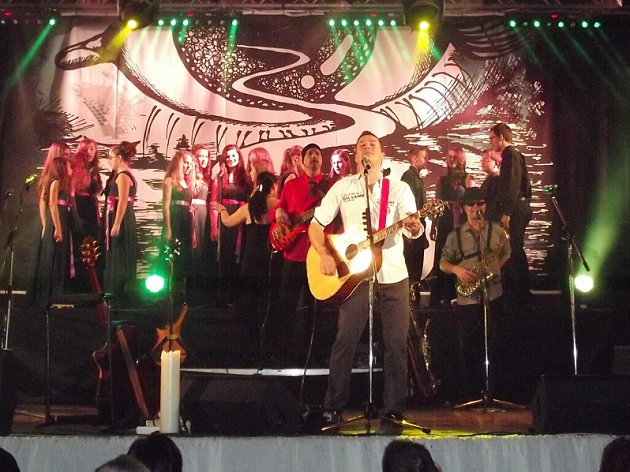 Vánoční koncert Petra Bende v Třebíči