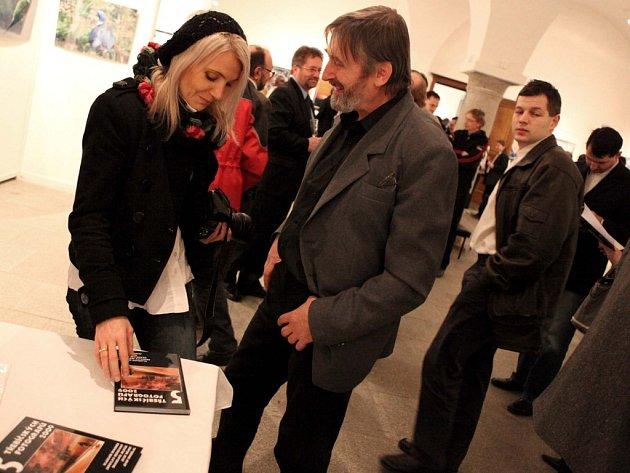 Jedním ze spoluvystavovatelů je i profesionální fotograf Josef Němec.