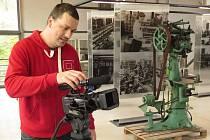 Natáčení Toulavé kamery v Borovině.