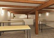 Nová podoba náměšťské sokolovny, jak ji navrhli architekti ze společnosti Technico Opava.