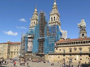 OBRAZEM: Brtničtí poutníci došli do Santiaga de Compostela