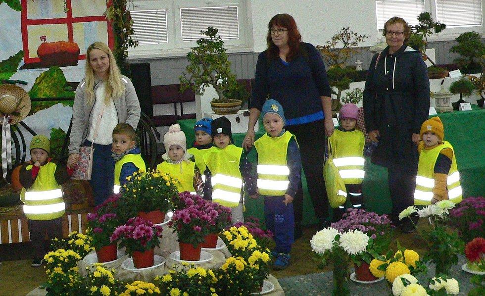 Oblastní zahrádkářská výstava v Třebíči.