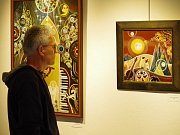 Výstava Václava Macha – Koláčného v třebíčské galerii Malovaný dům