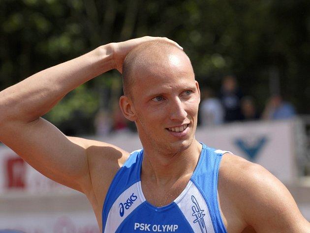 Překážkář Petr Svoboda.