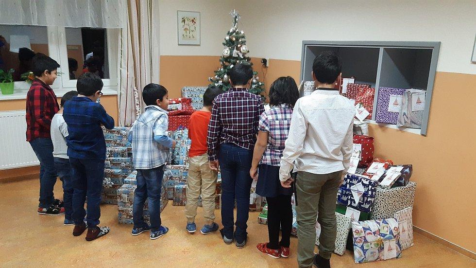 Vánoce v Dětském domově v Náměšti nad Oslavou