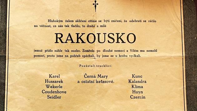 Výstava Ať žije republika v Třebíči.